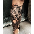 TIGER_WOMAN_TATTOO_BY_CYRIL_PERRIOLLAT