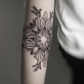 FLOWER MANDALA _ TATTOO BY MONSIEUR YOH