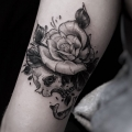 ROSE_SKULL_TATTOO_BY_MR_YOH